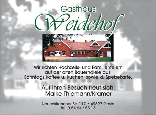 Gasthaus Weidehof