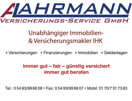 Anzeige Lahrmann Versicherungs-Service