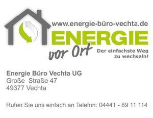 Anzeige Energie vor Ort