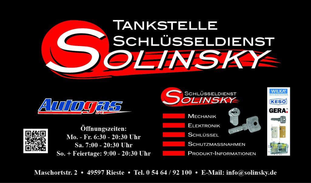 Tankstelle Solinsky, Shop, Waschanlage