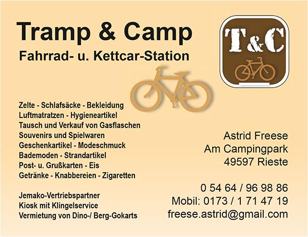 Anzeige Tramp und Camp